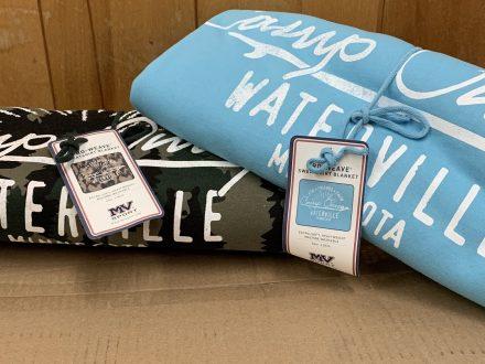 Sweatshirt Blanket (Bear Forest & Cali Blue) $35