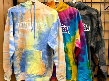 Crazy Hoodie (Sunrise, Rainbow & Faded Camo) $25